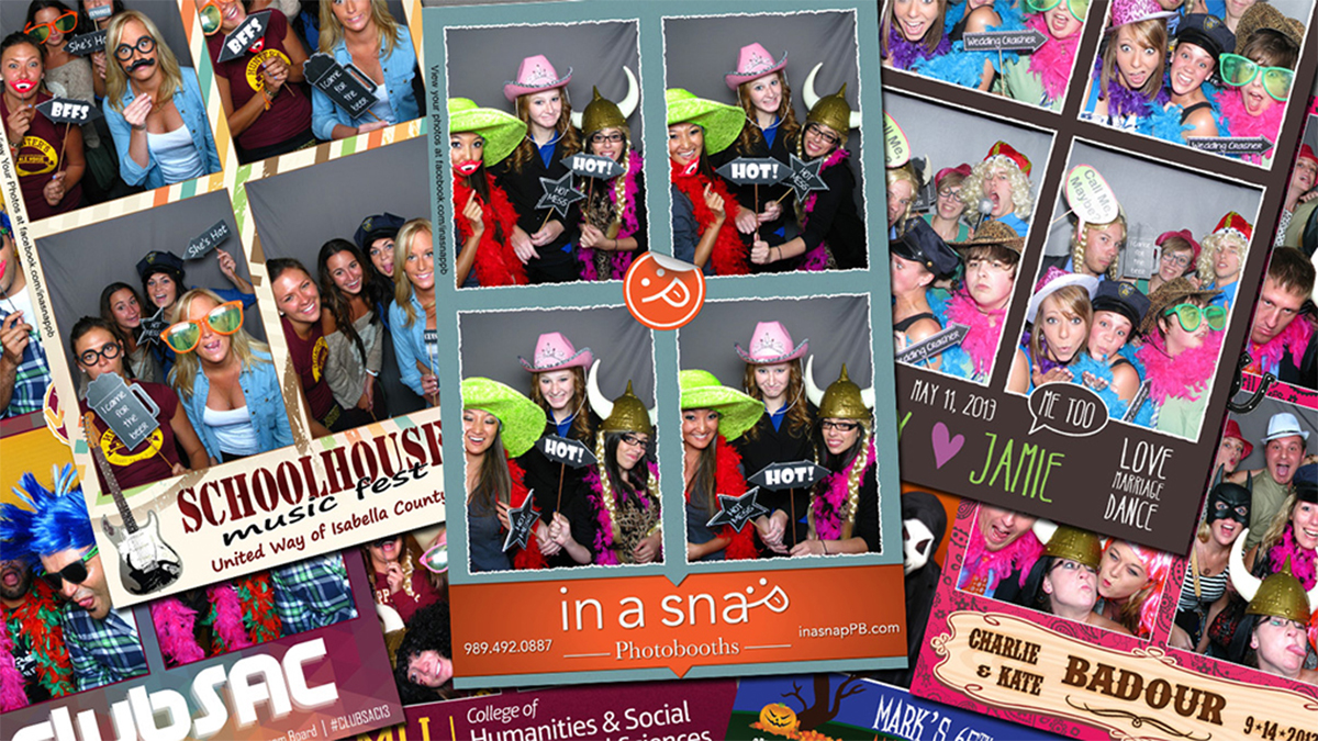 InaSnap Photobooths Template Samples